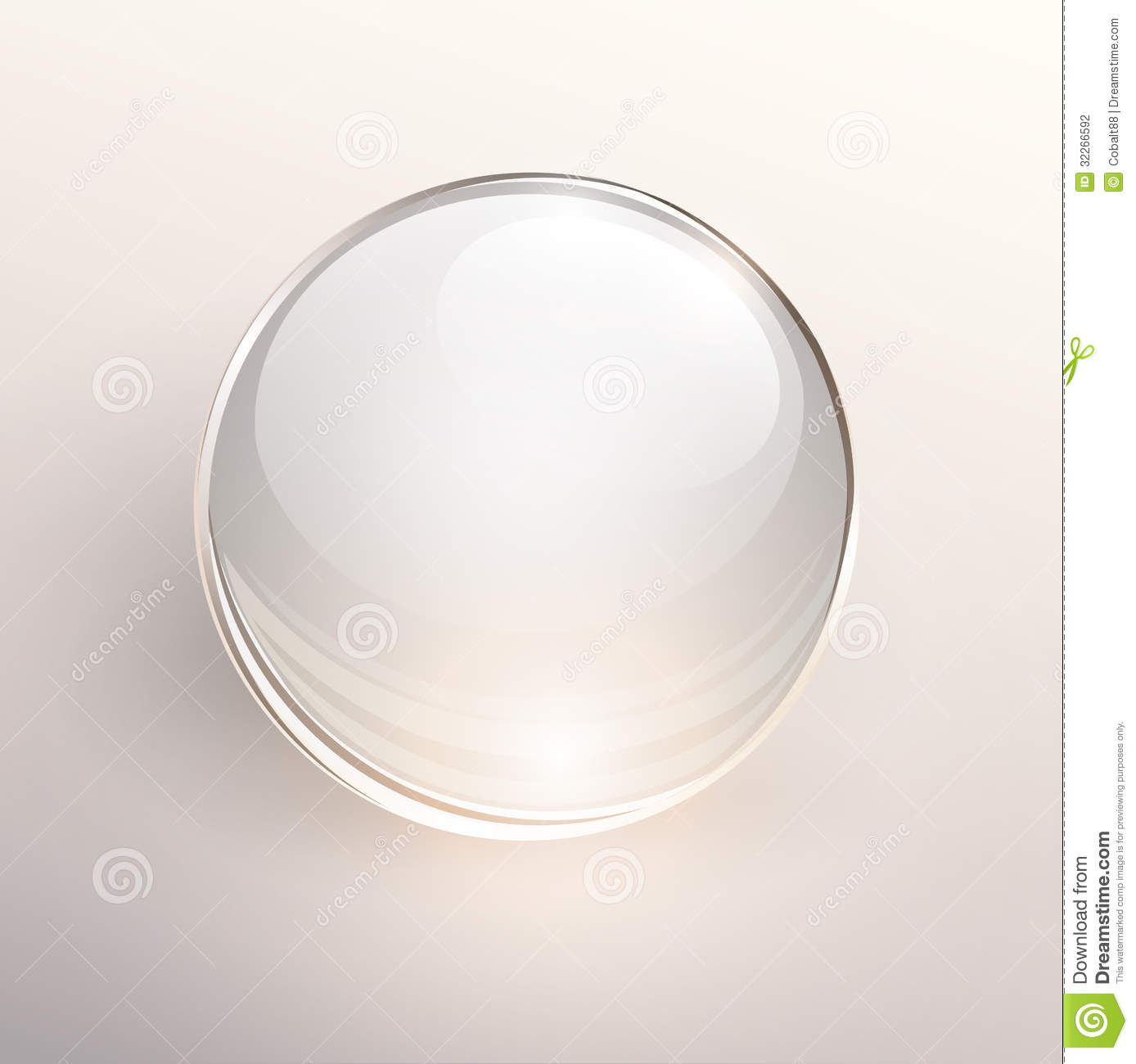 Glass Ball Background Stock Photography - Image: 32266592