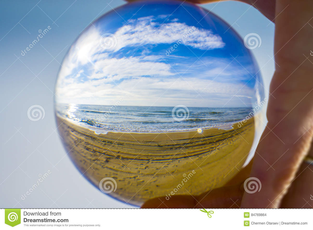 Glass ball. The fate of the planet Earth in human hands
