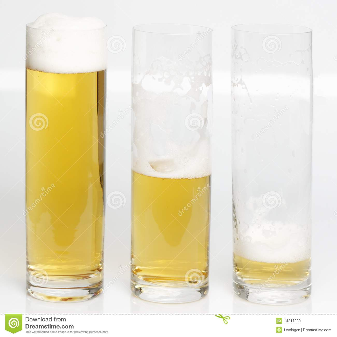 L Beer Glasses