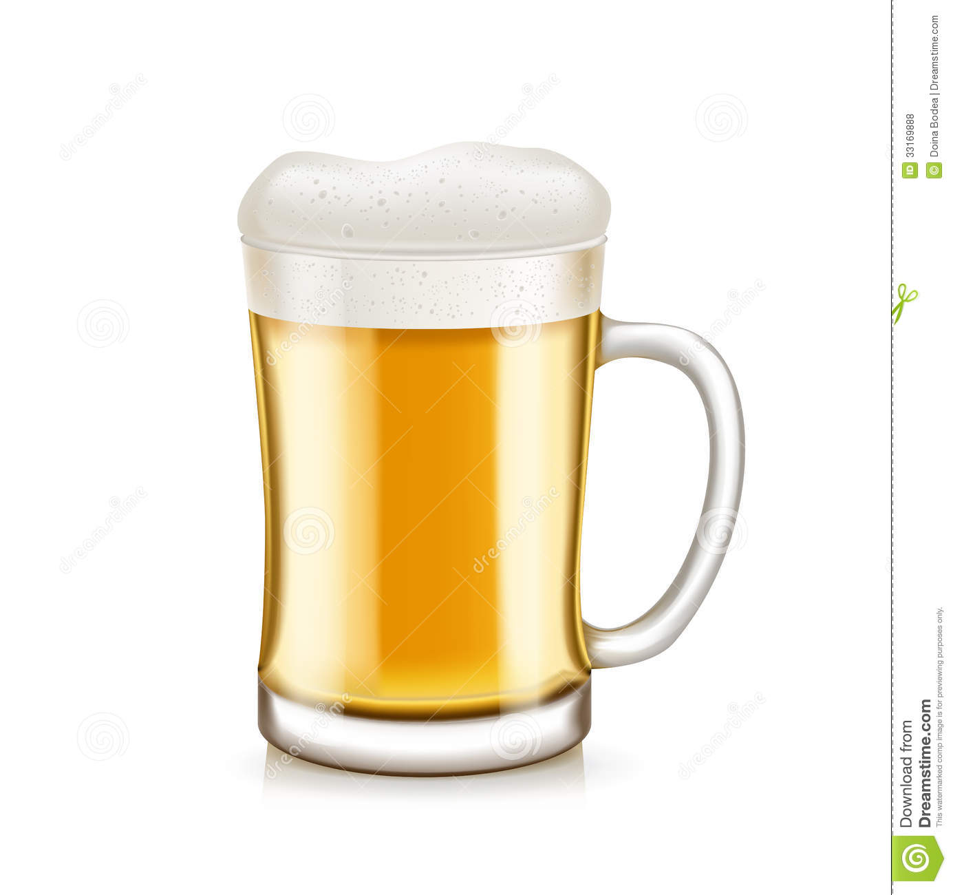 glass of beer with handle isolated on white royalty free. Black Bedroom Furniture Sets. Home Design Ideas