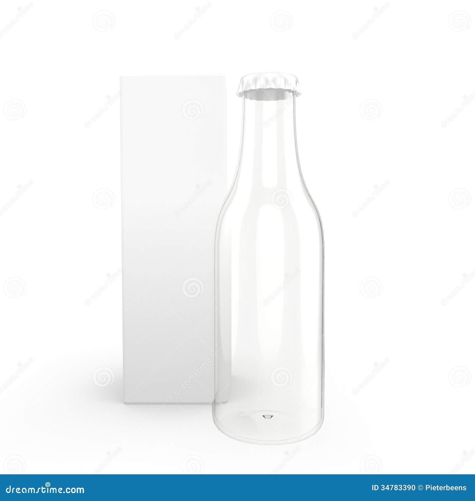 glass bottle with package stock illustration image of glass 34783390. Black Bedroom Furniture Sets. Home Design Ideas