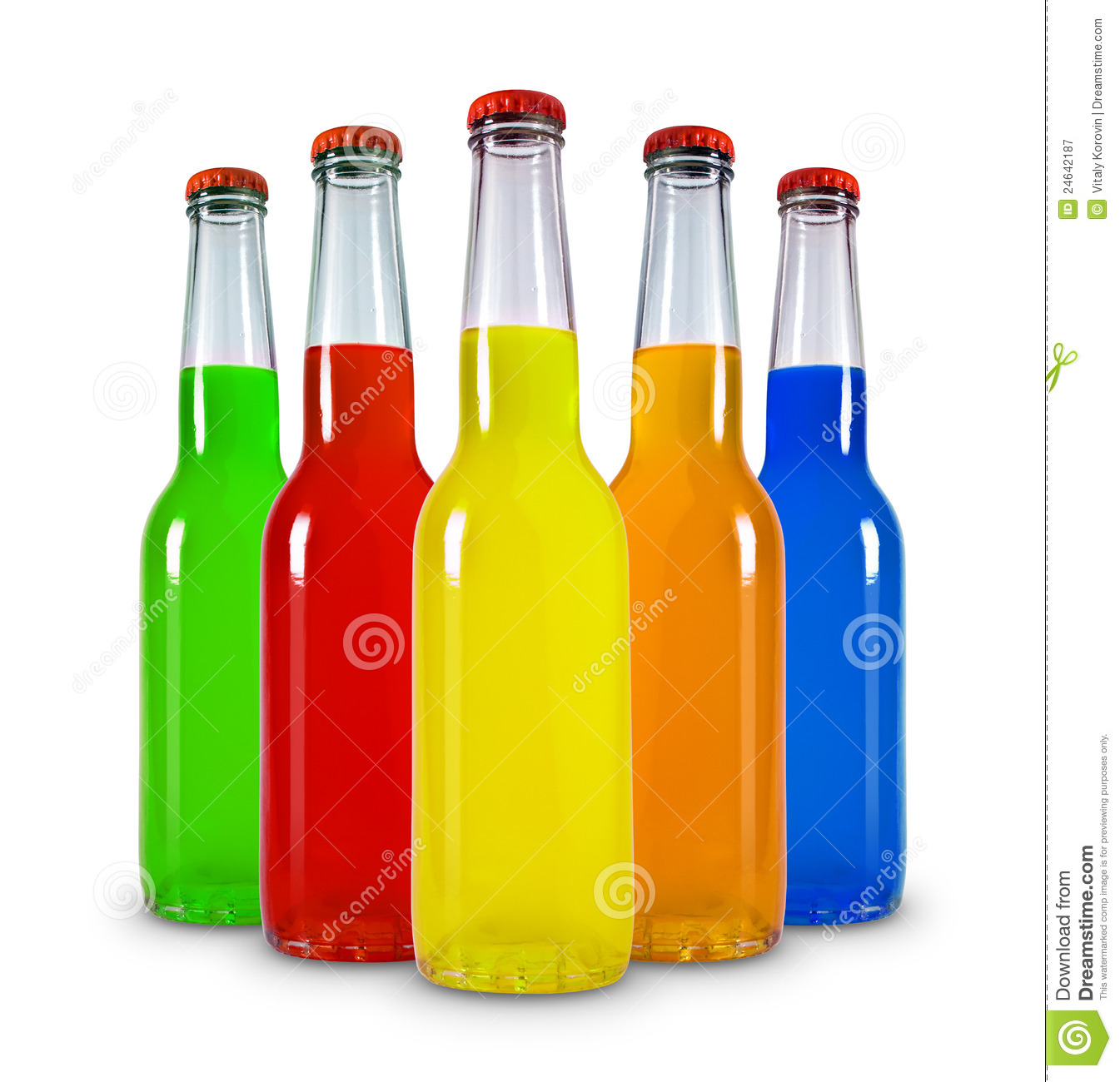 Glass Bottles Royalty Free Stock Photography Image 24642187
