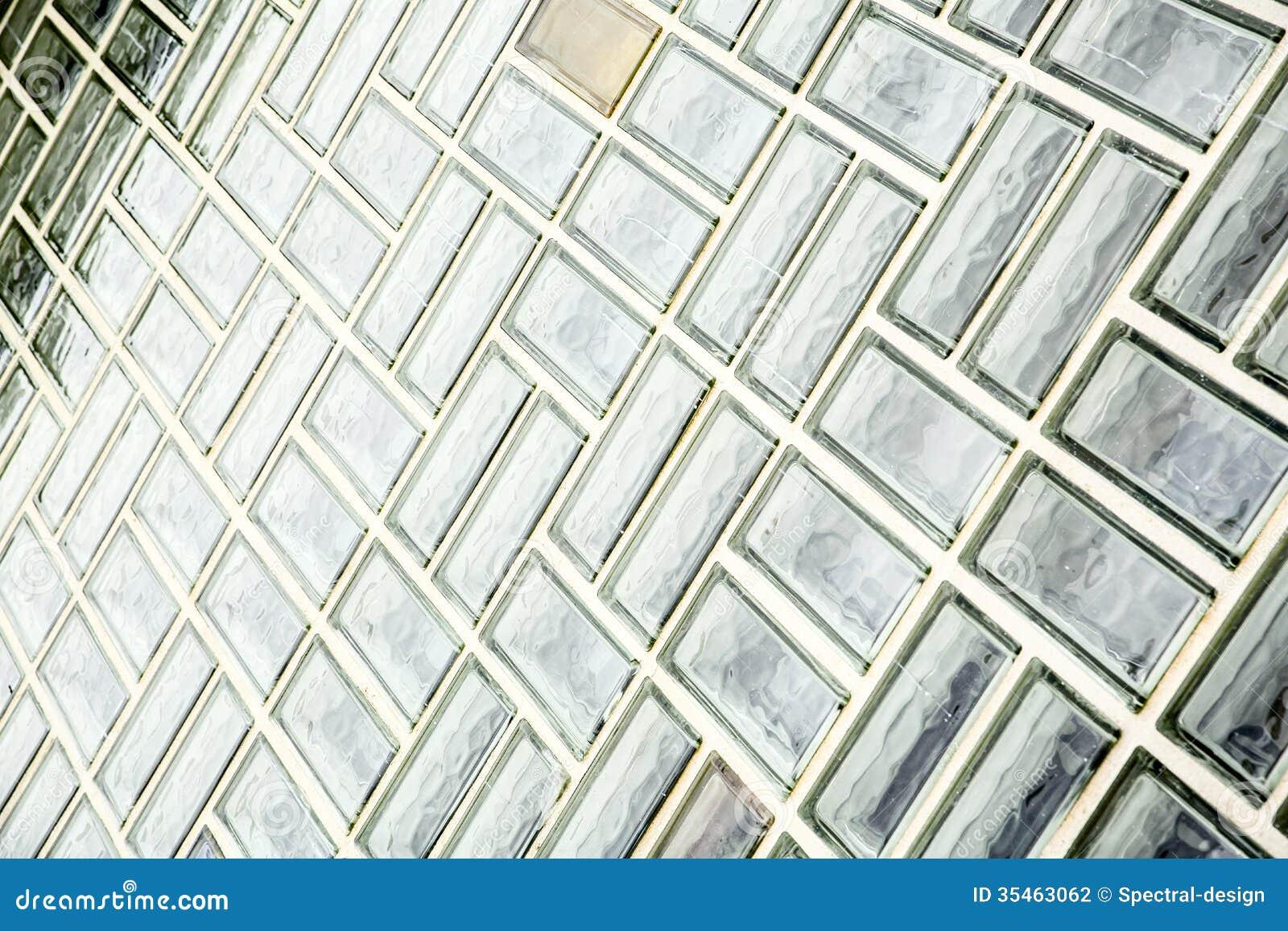 Glass Brick Wall Stock Photography Image 35463062