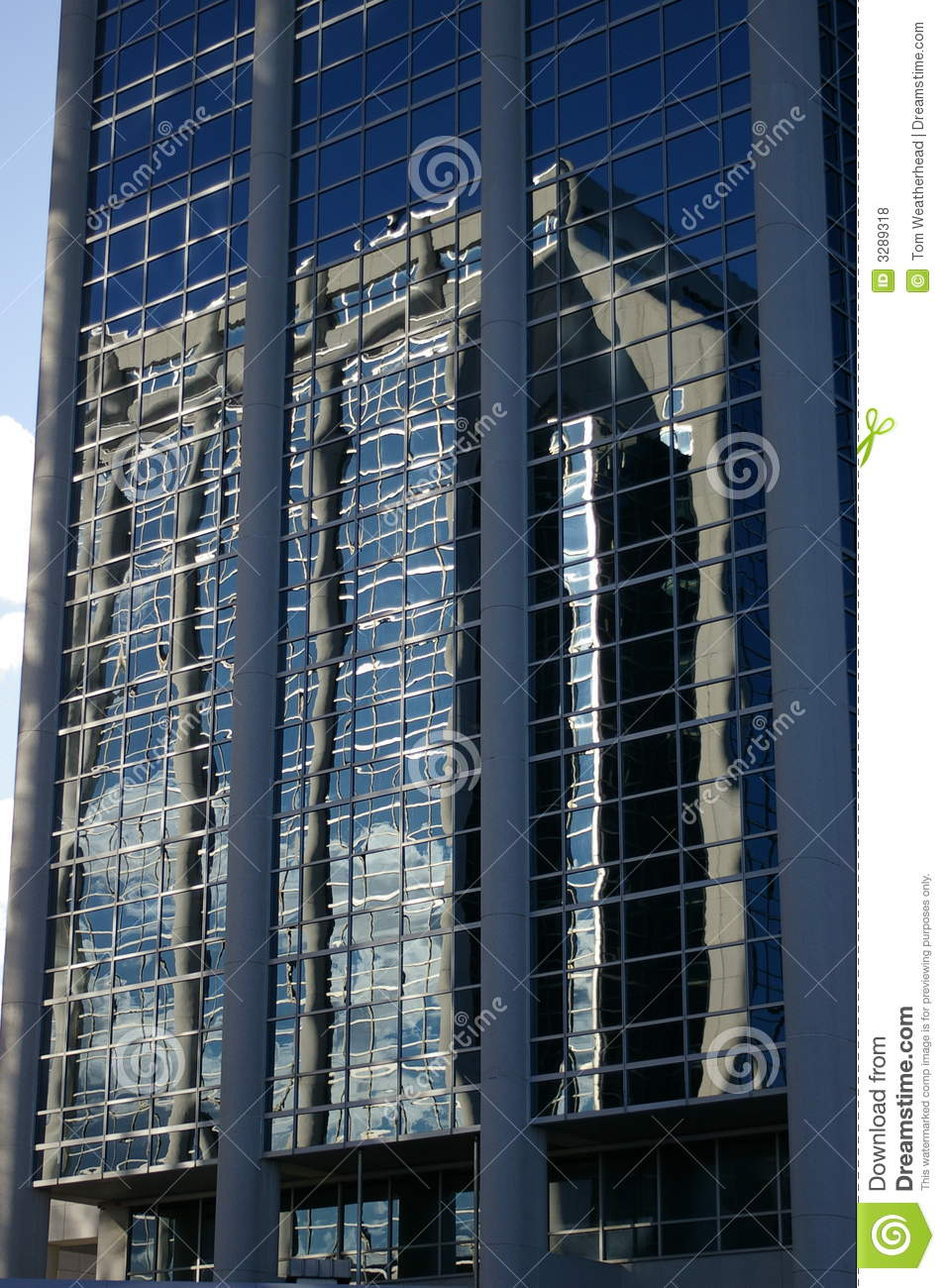 Glass Building With Reflection Royalty Free Stock Photos ...