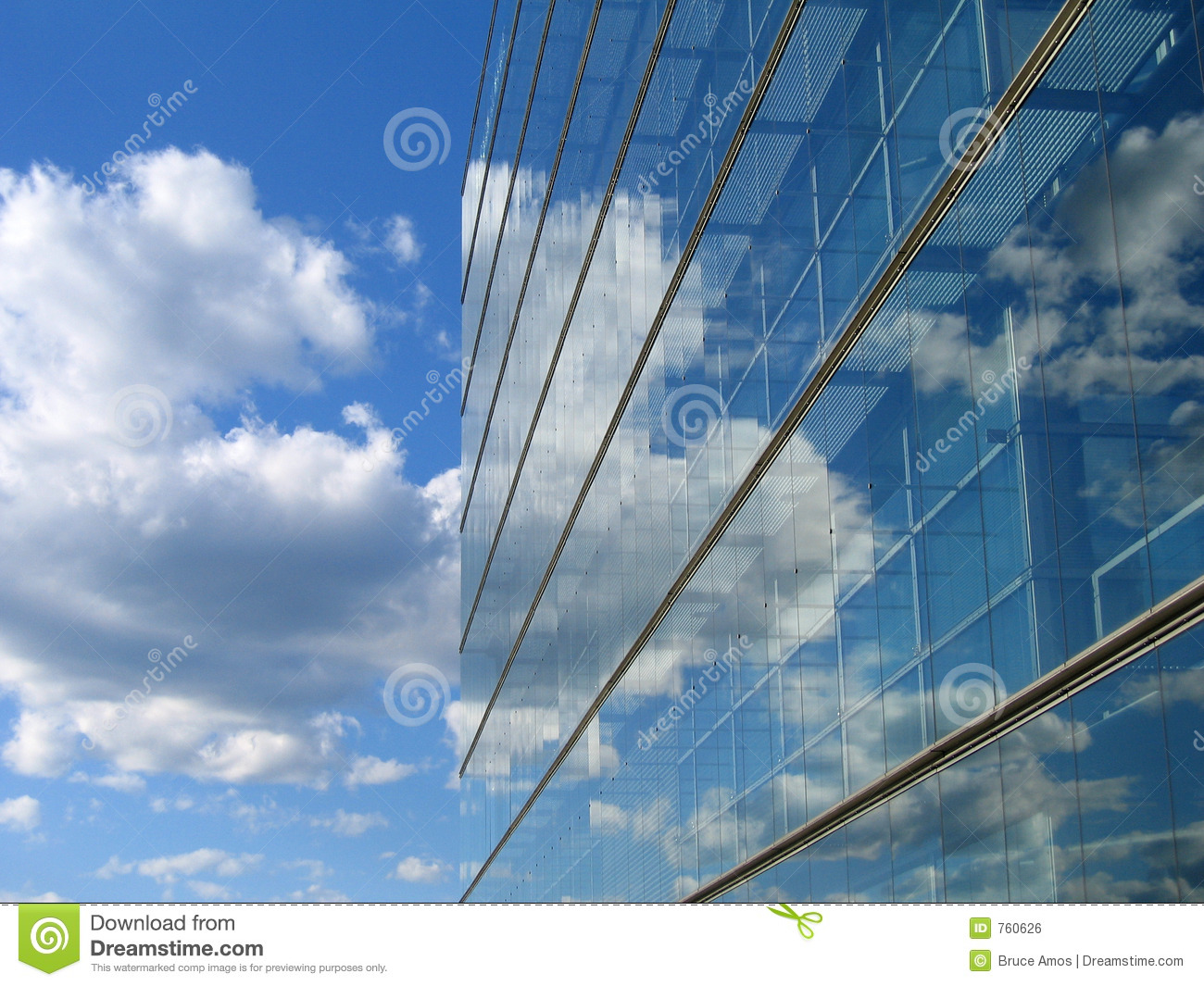 Glass Building Reflection Royalty Free Stock Image - Image ...