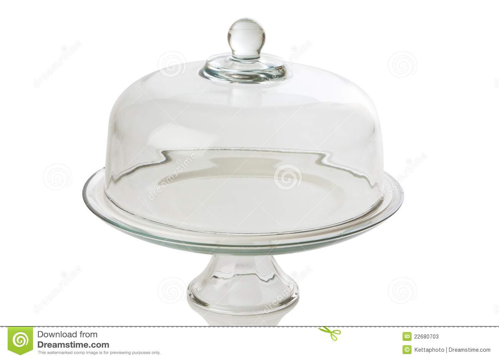 Glass Cake Tray Stock Photos Image 22680703