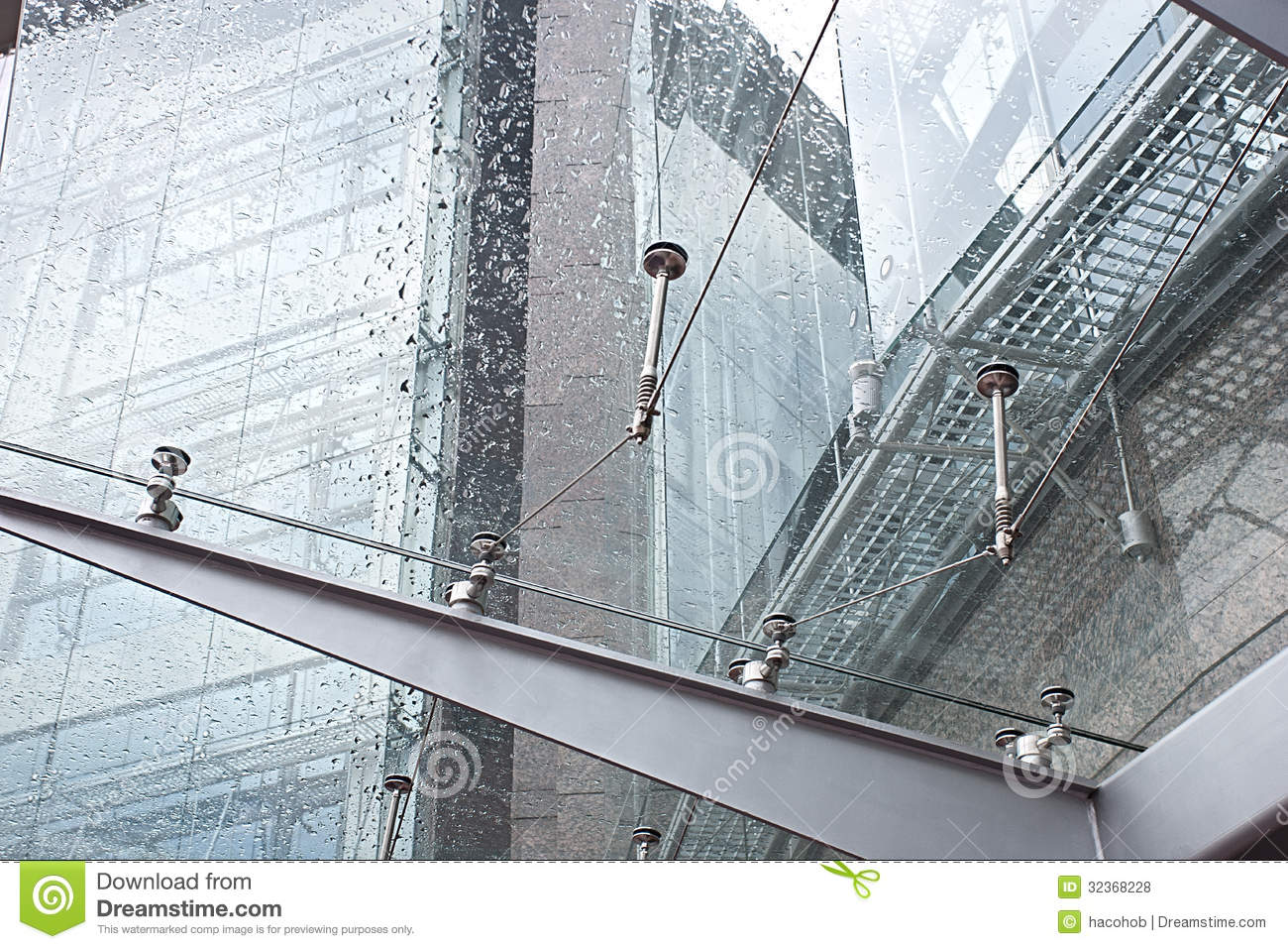 Glass Canopy Stock Photo Image Of Pattern Glassy Front