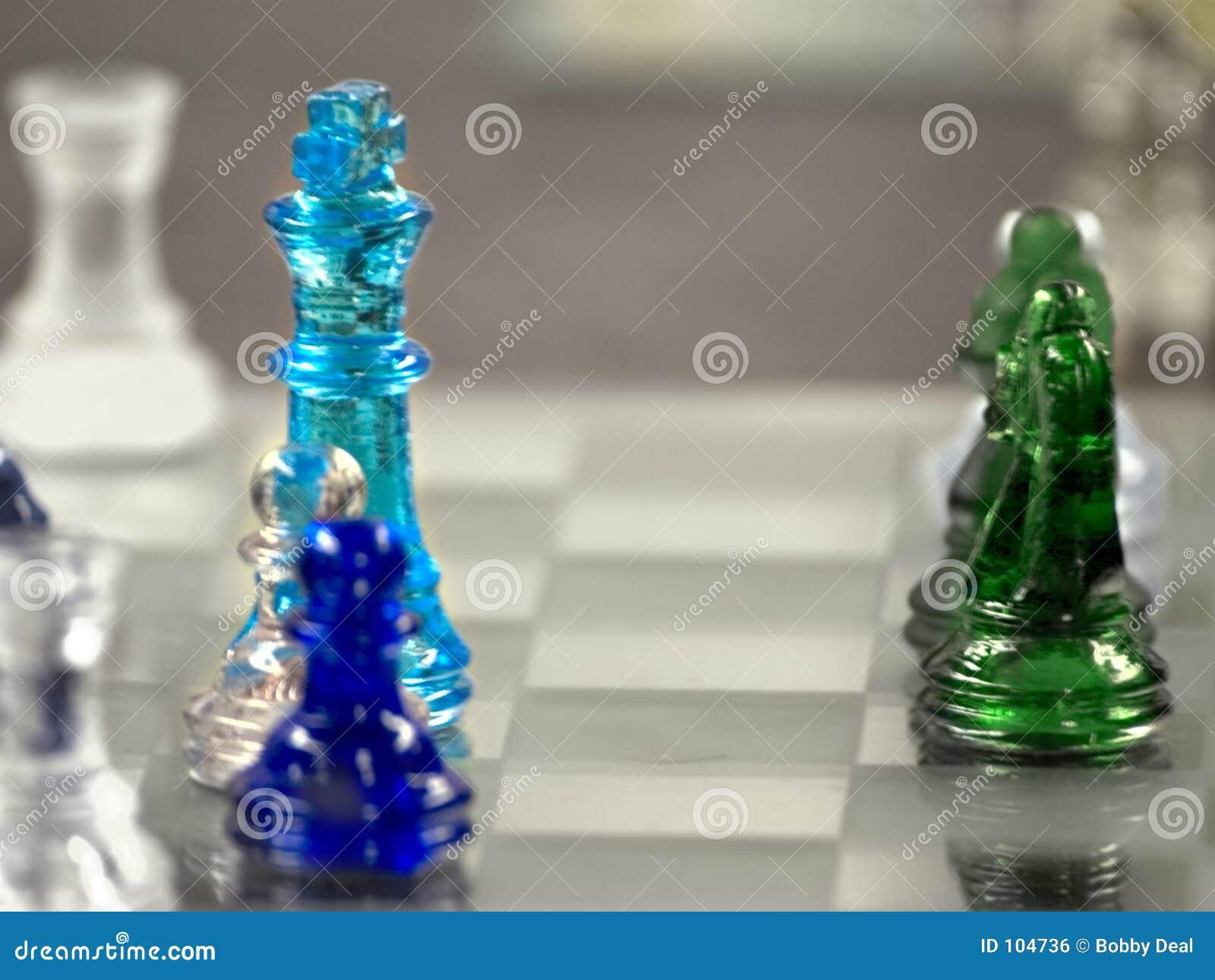 Glass Chess Blur