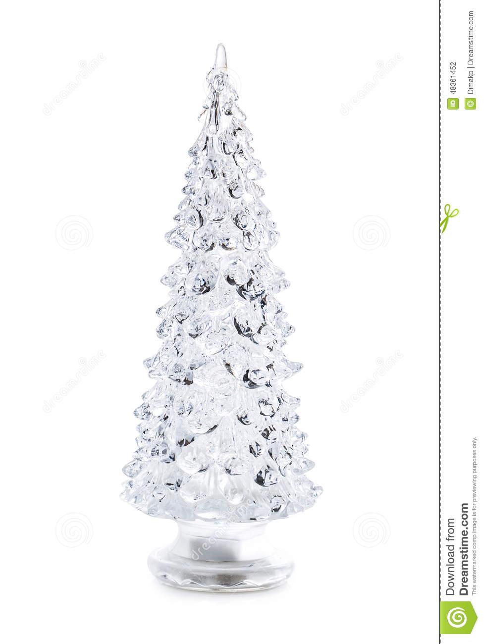 royalty free stock photo download glass christmas tree - Glass Christmas Tree