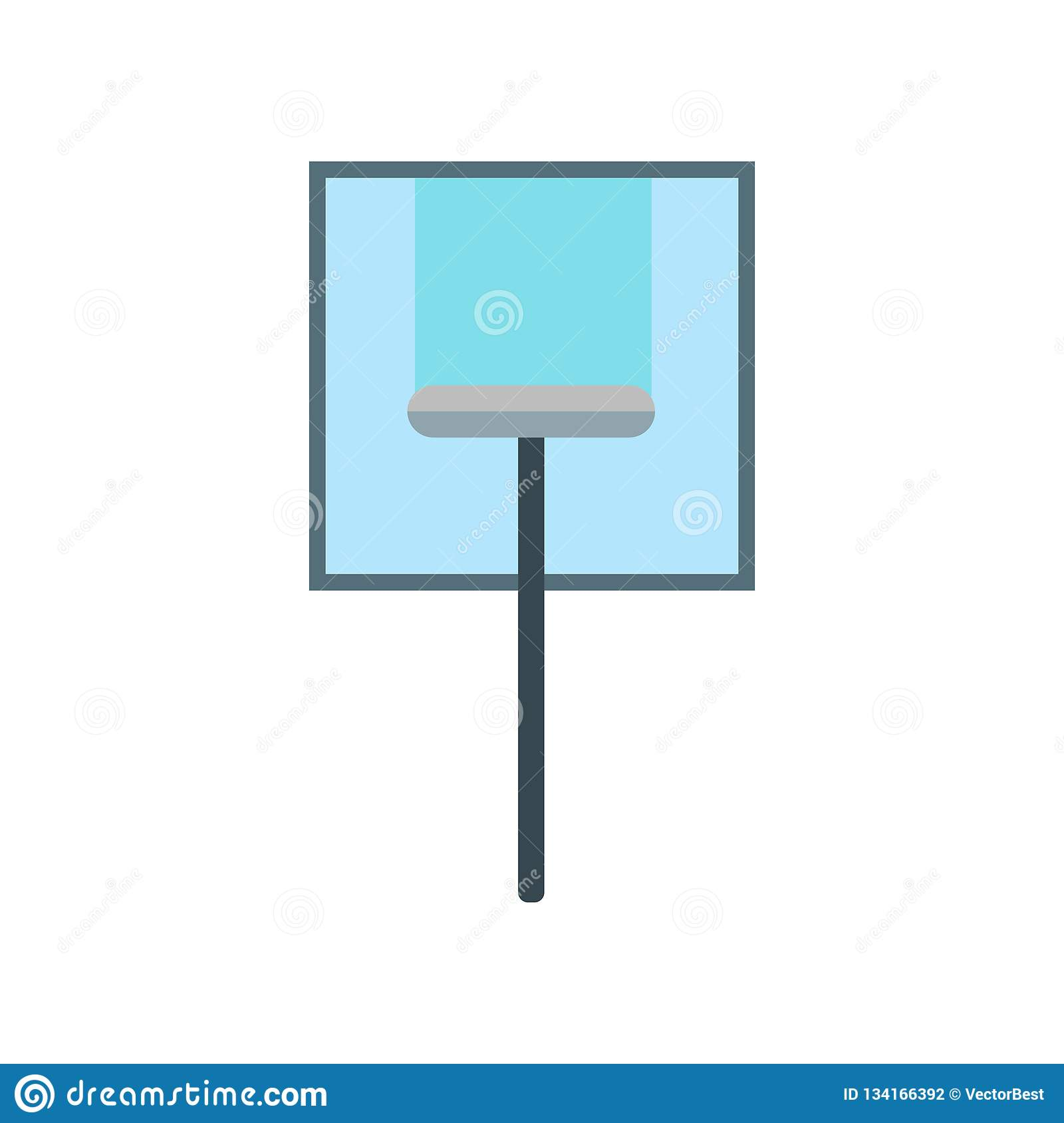 Glass cleaning icon vector sign and symbol isolated on white background, Glass cleaning logo concept