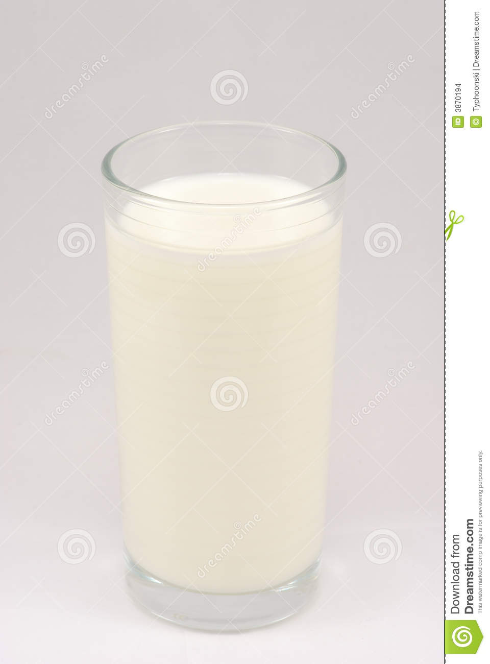 Glass Of Cold Milk Stock Images - Image: 3870194