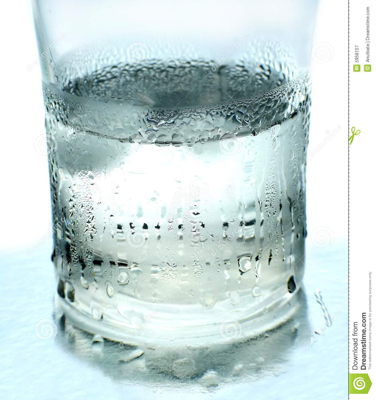 Glass Of Cold Water Royalty Free Stock Photography - Image ...
