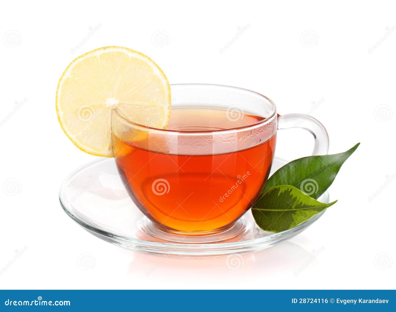 glass cup of black tea with lemon slice royalty free stock tea cup clip art free tea cup clipart border