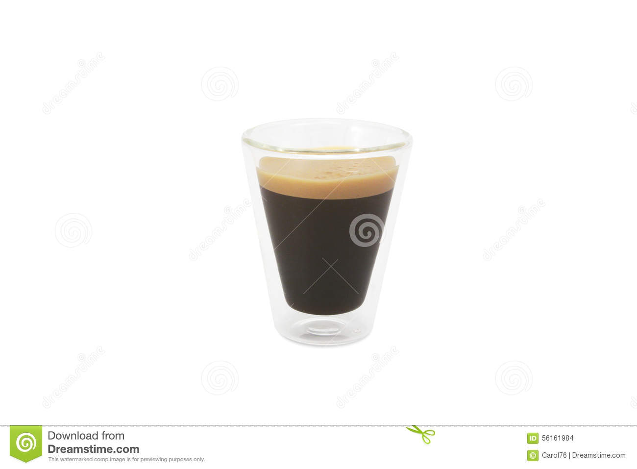 Glass of coffee with passion fruit half royalty free stock for Passion coffee