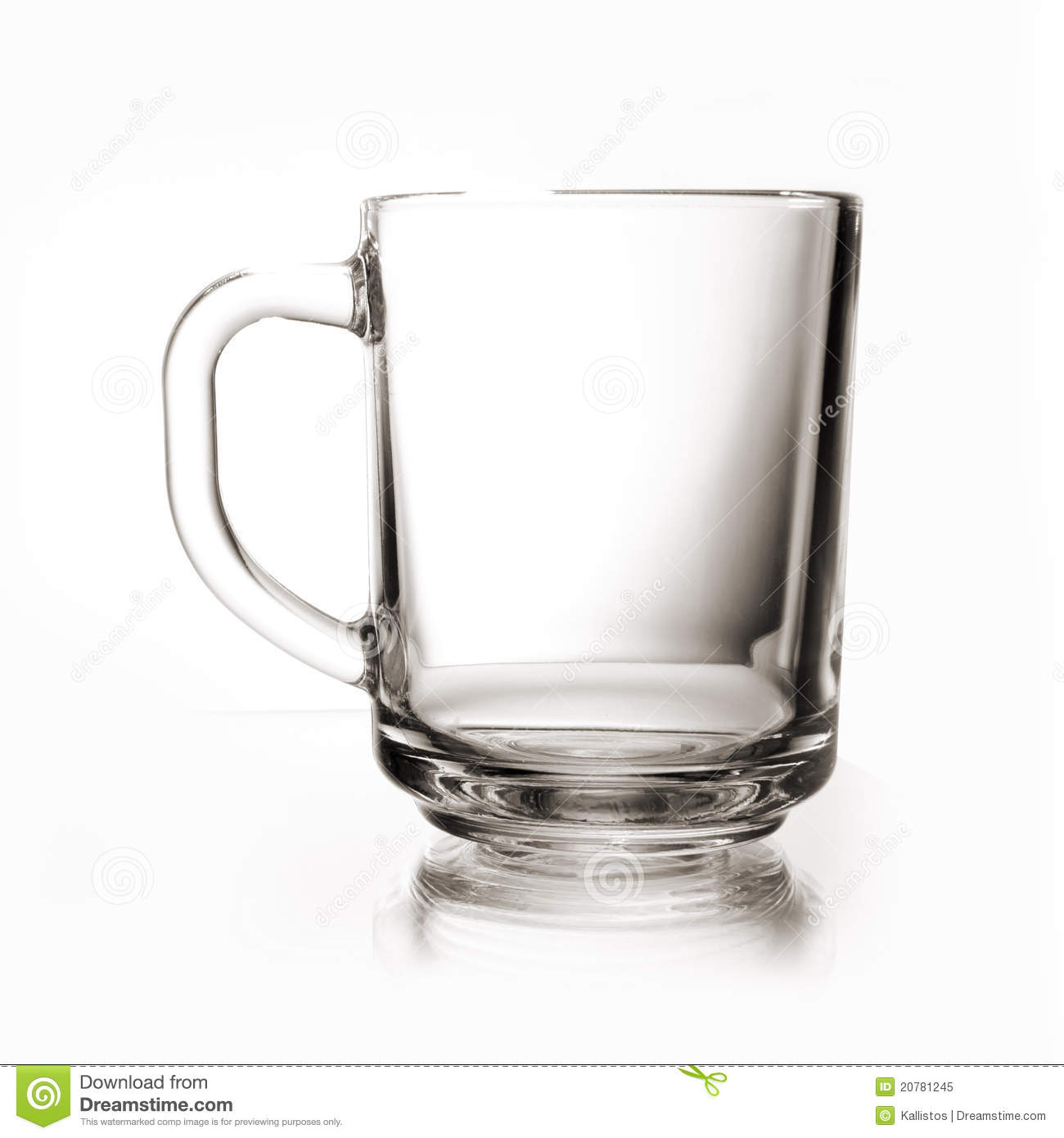 Glass Cup Cup Of Tea Royalty Free Stock Photo - Image: 20781245