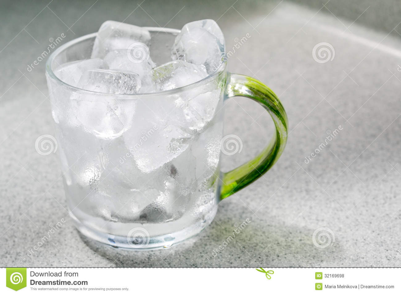 glass cup with ice cubes stock photo image of cubes