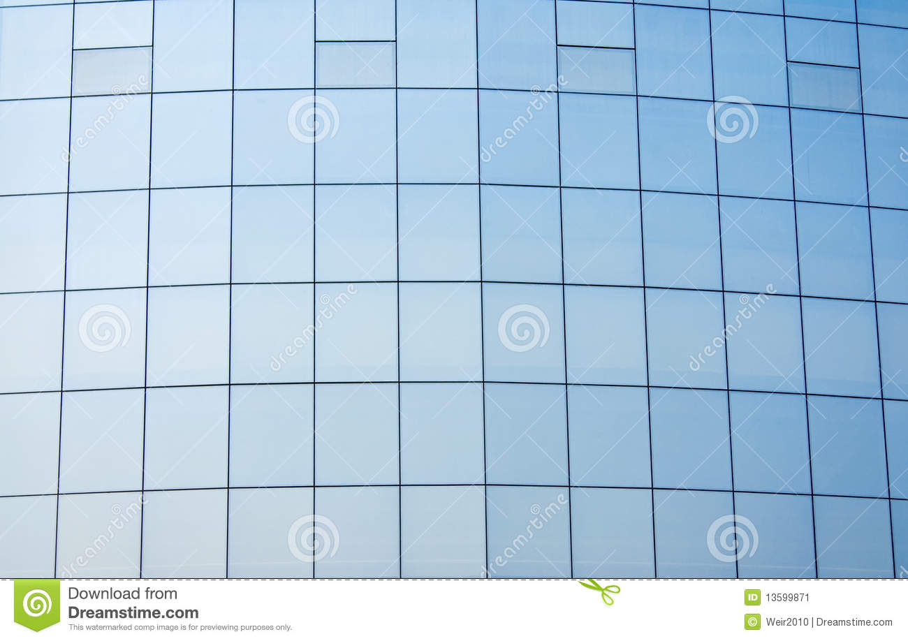 Glass Curtain Wall Stock Image - Image: 13599871