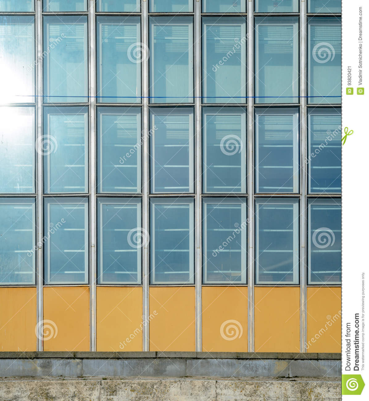 Aluminium curtain wall systems metal technology - Royalty Free Stock Photo Download Glass Curtain Wall
