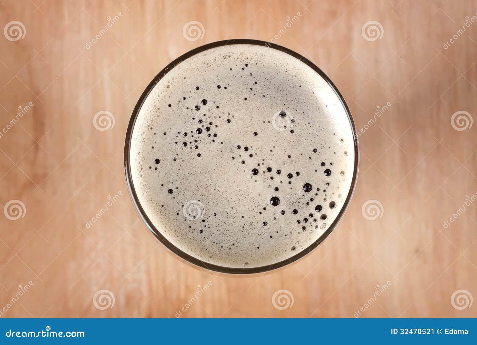 Glass Of Dark Beer Stock Image - Image: 32470521