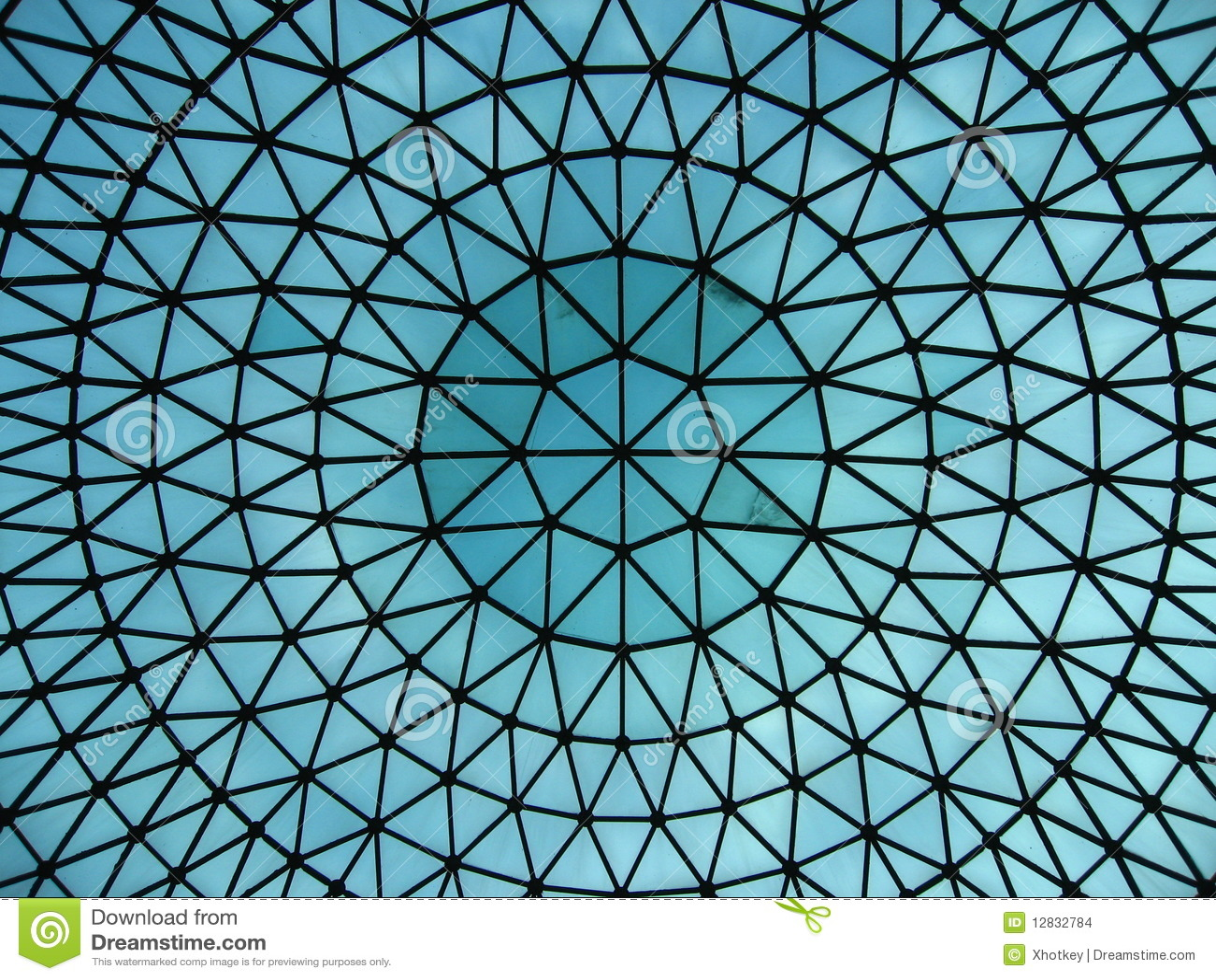 Glass Dome Of Railway Station Hall Stock Photo Image Of