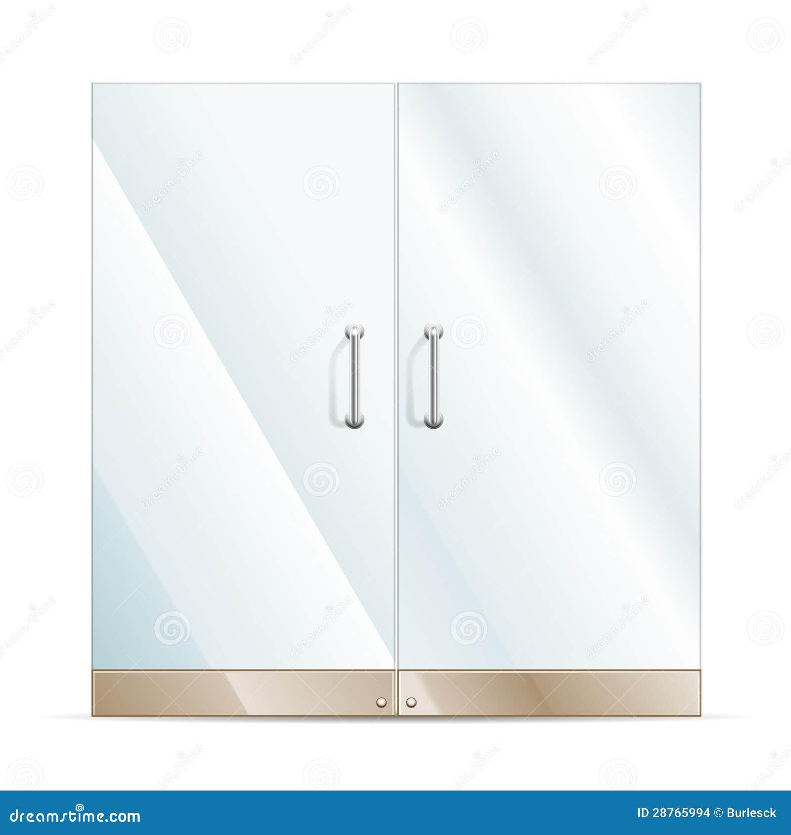 Glass Door Stock Images Image 28765994