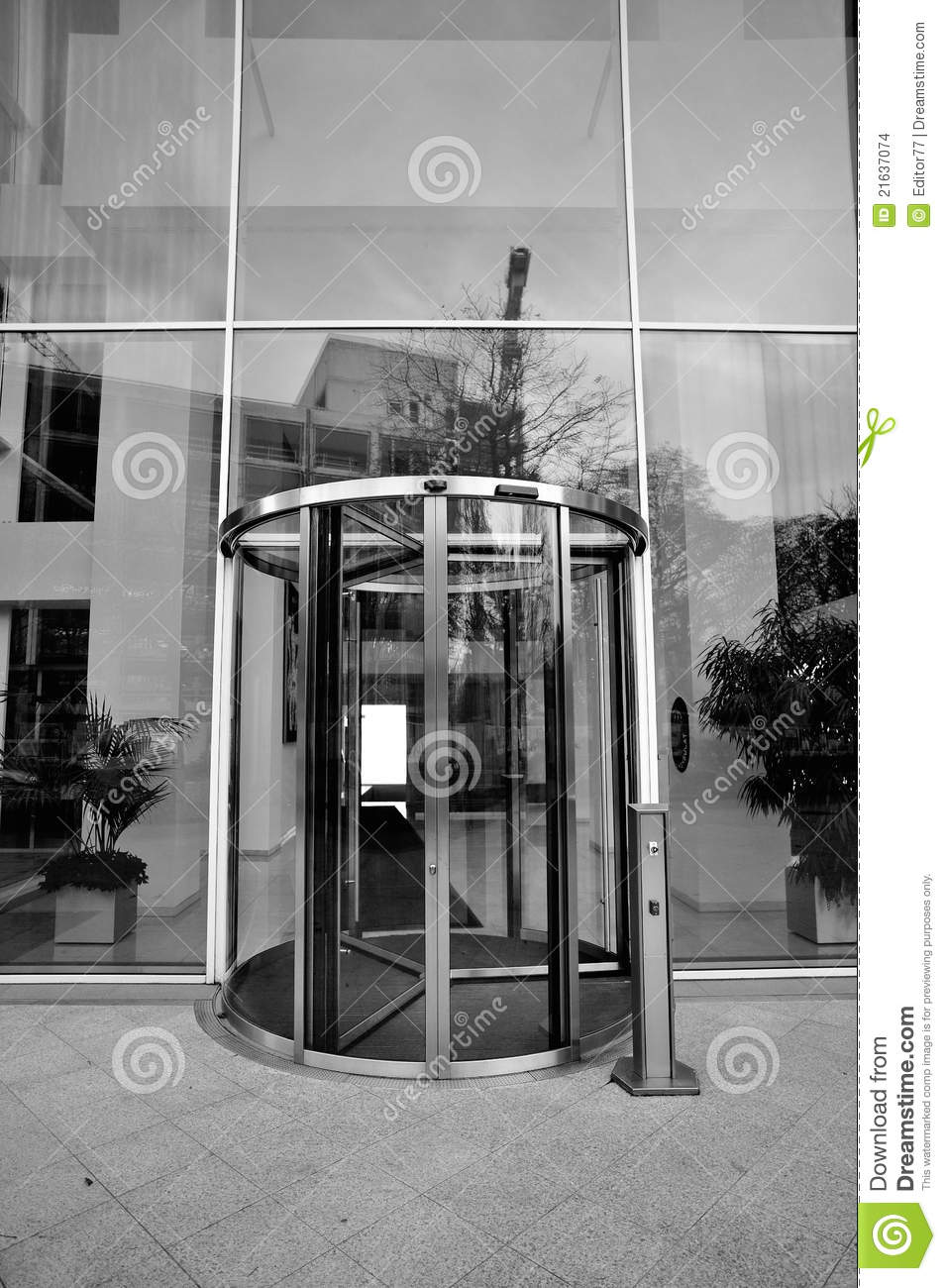 Office building entrance stock images image 21637074