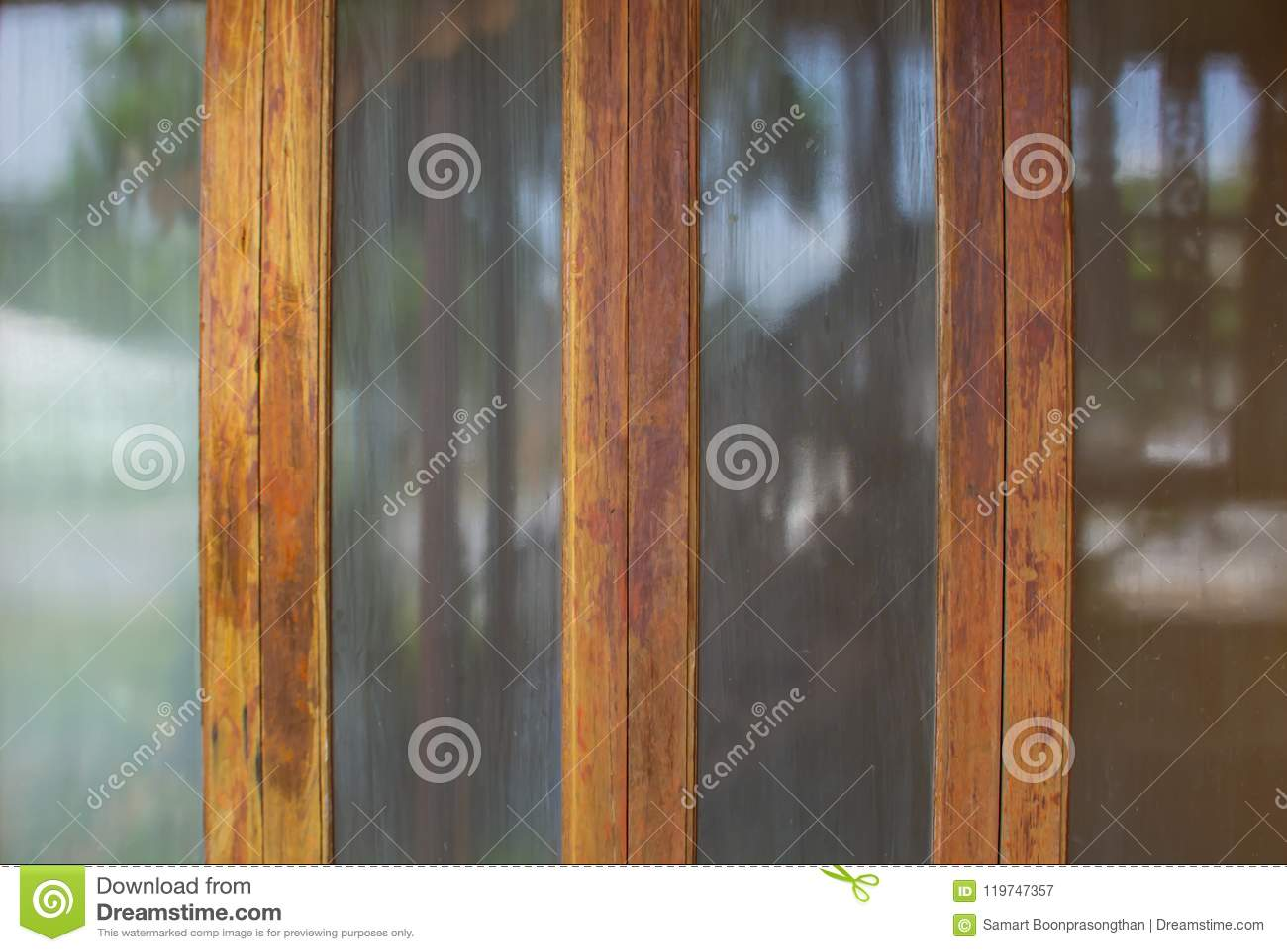 Download Glass door frame old wood. stock image. Image of antique -  119747357 - Glass Door Frame Old Wood. Stock Image. Image Of Antique - 119747357