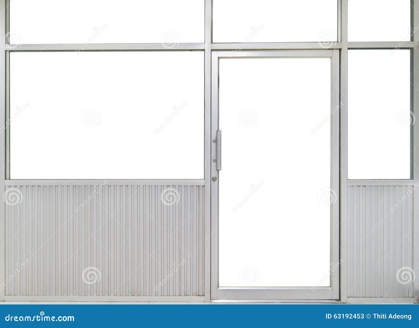 office door with window. Glass Door And Window Office Room With N