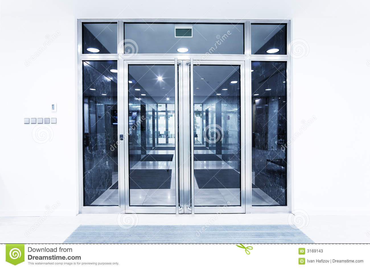 glass door for office. Glass Doors In An Office Door For