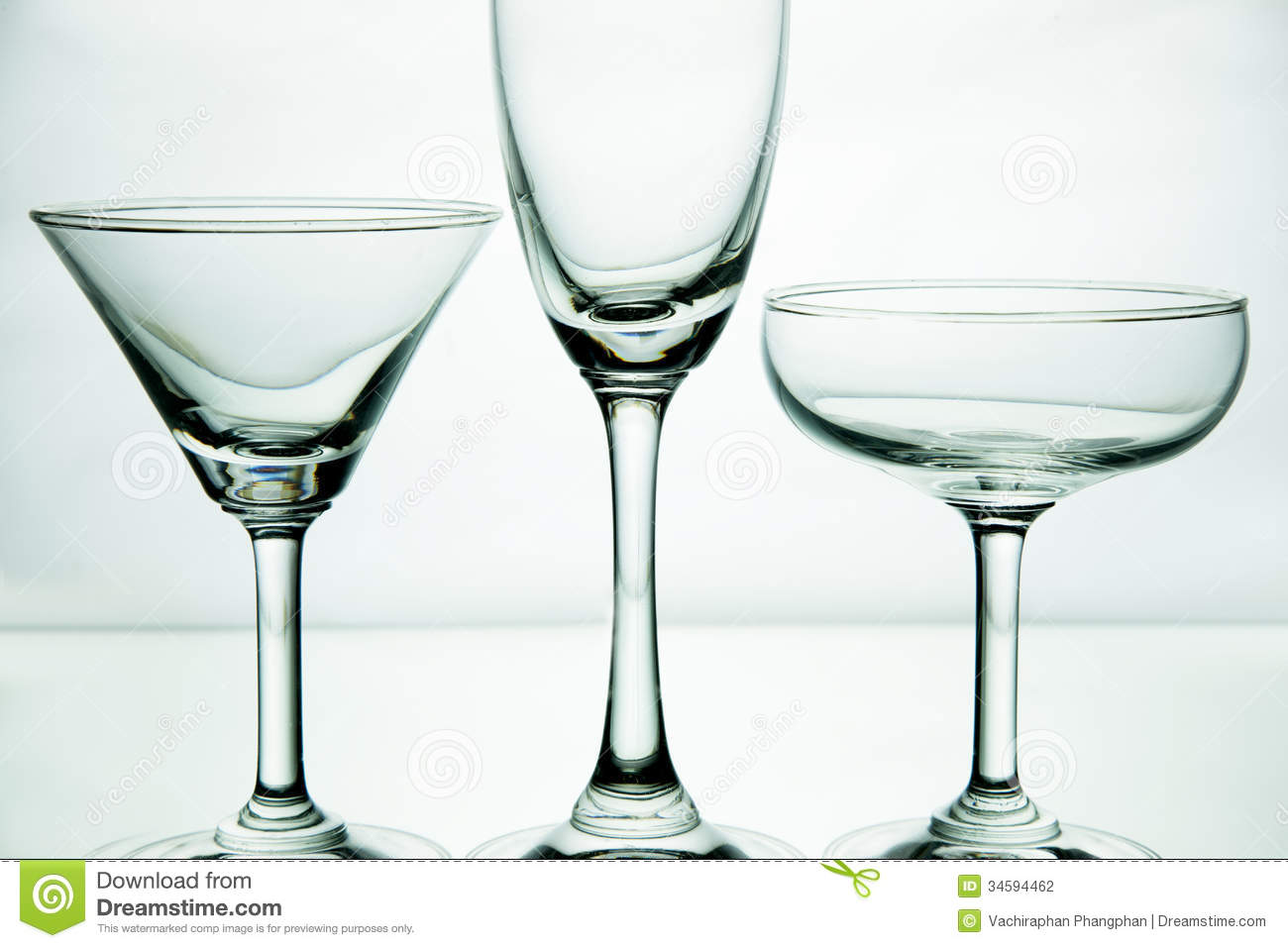 Glass Of Drink On White Background. Stock Photography ...