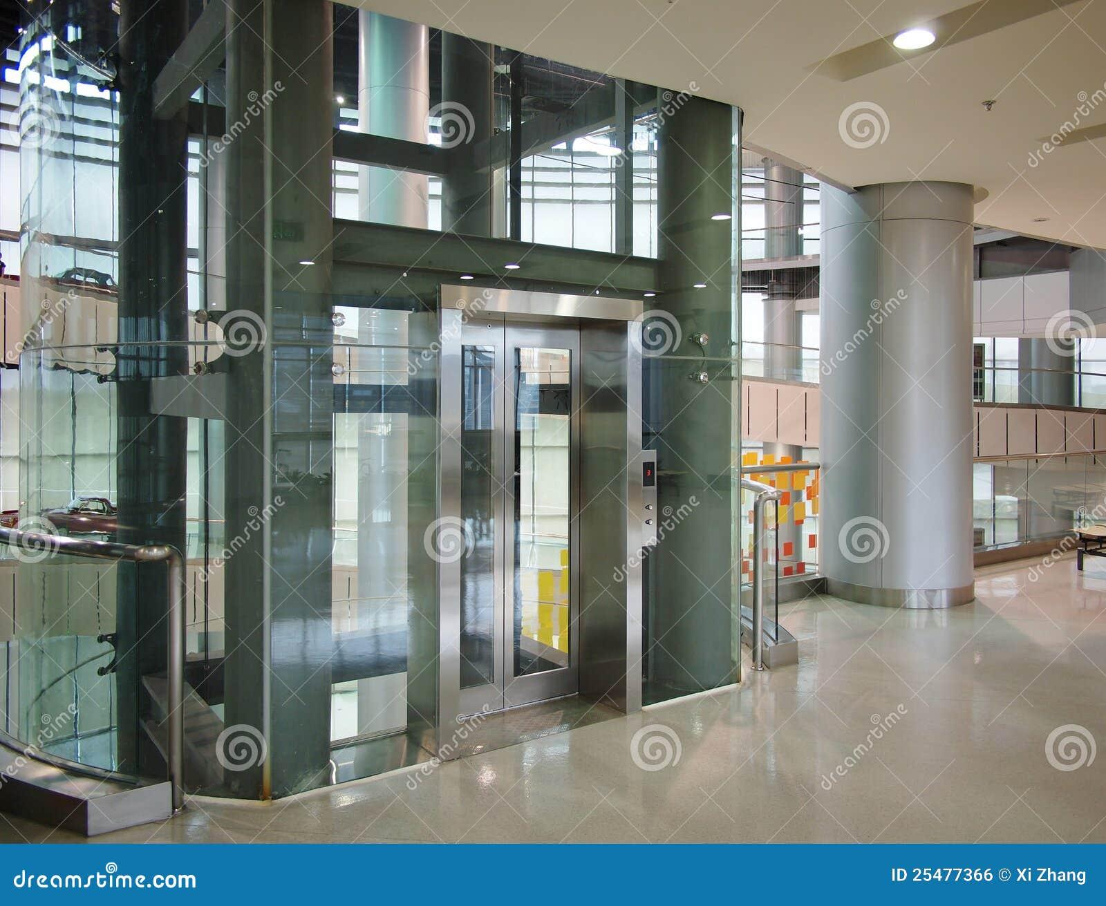 Glass Elevator Royalty Free Stock Image Image 25477366