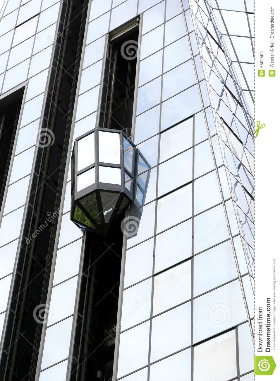 Glass Elevator Exterior Stock Photos - Royalty Free Images