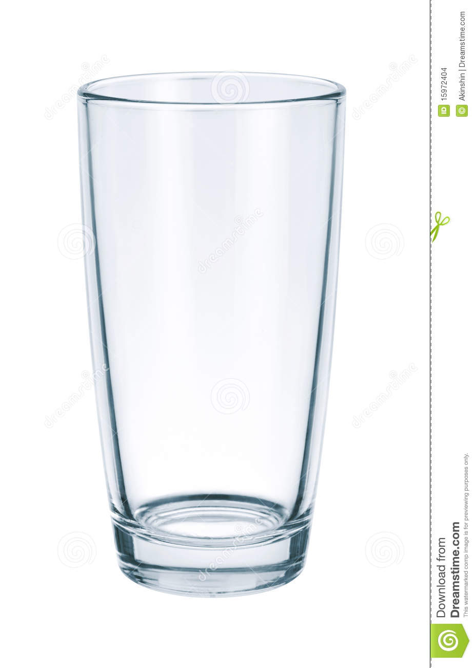 Glass Empty Stock Images - Image: 15972404