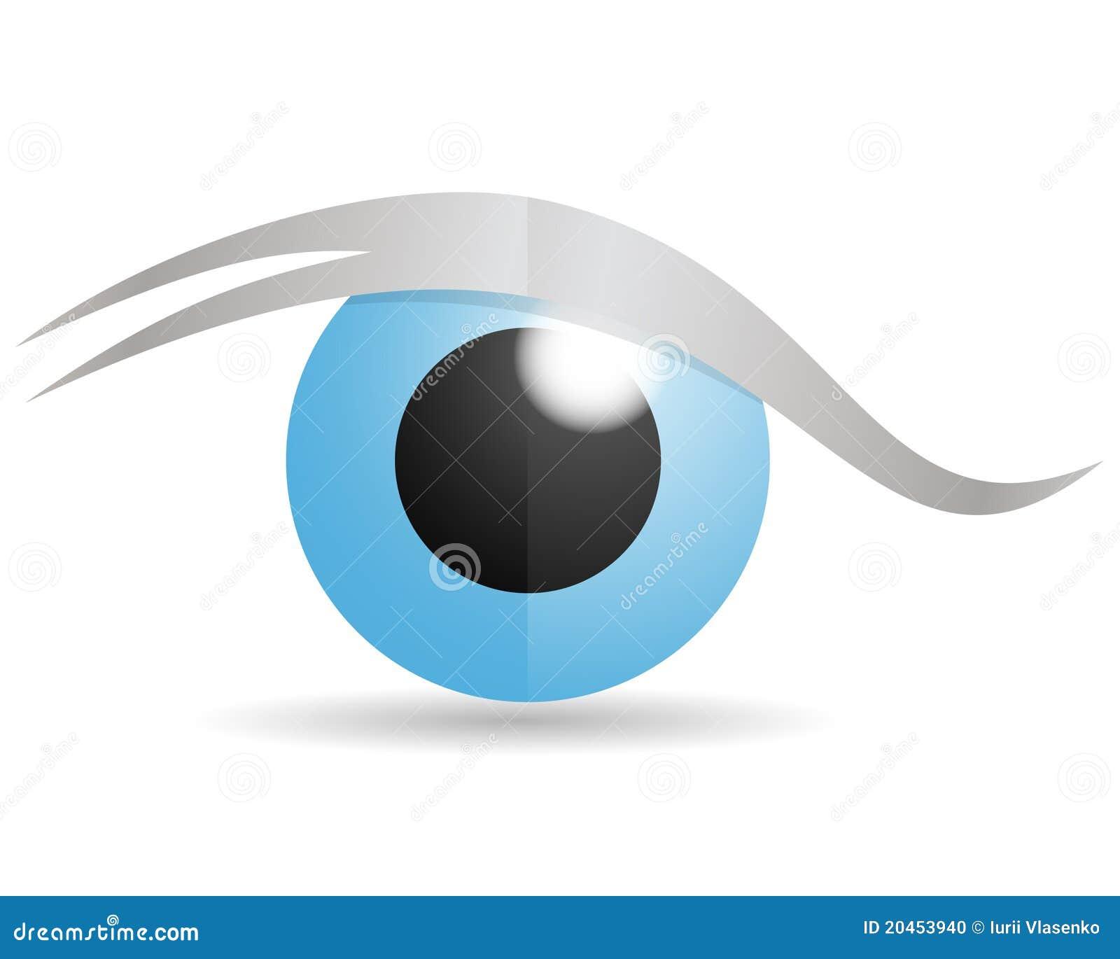 Eyeball Logo Glass eye logoEyeball Logo