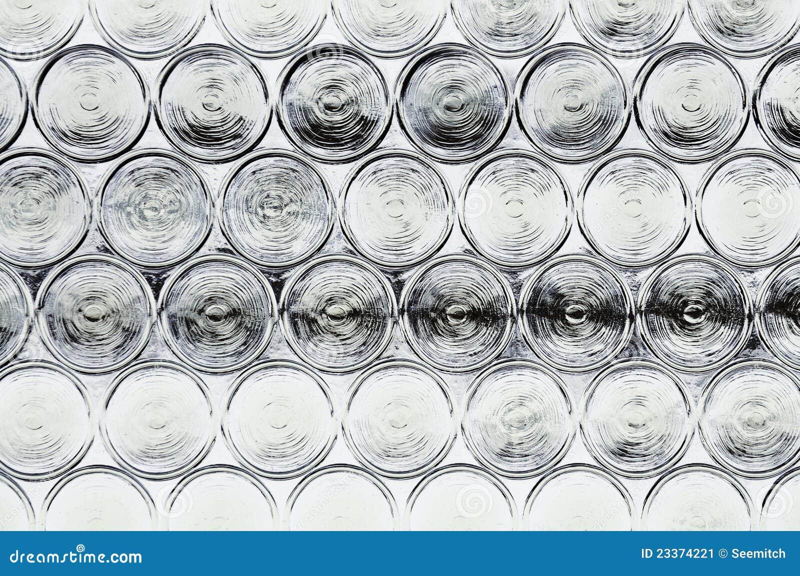 Glass fönster för krona