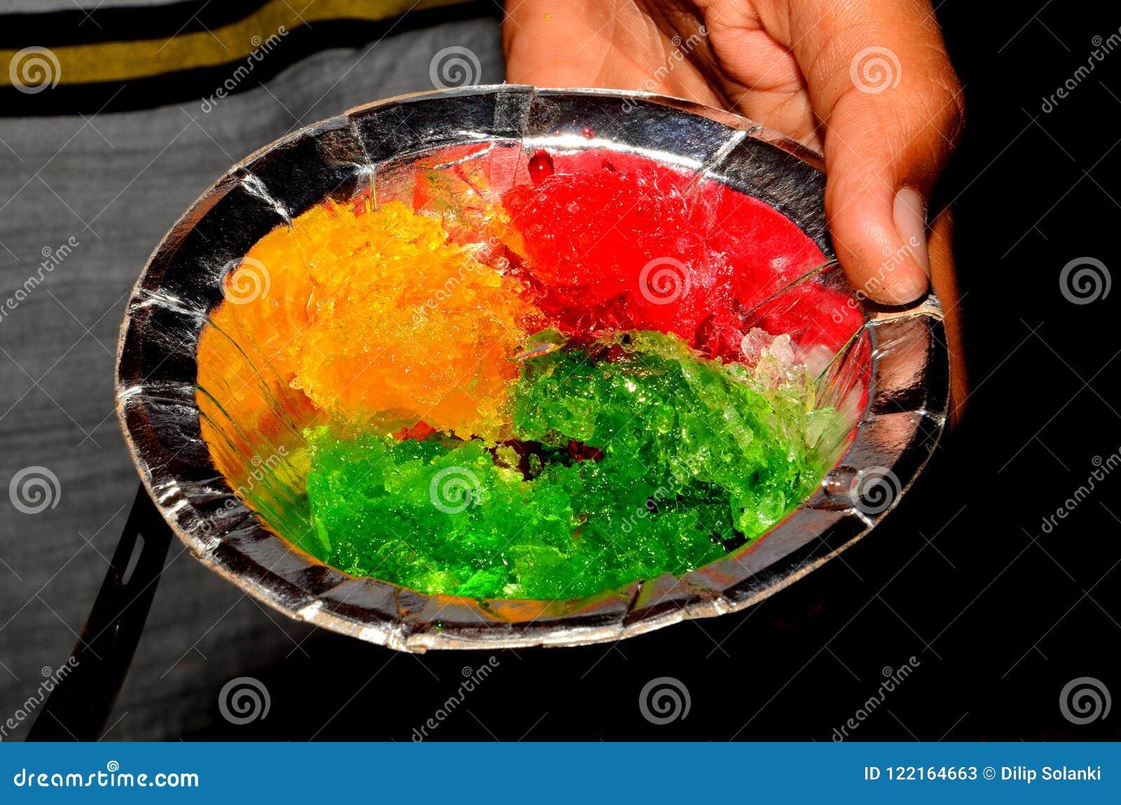 Glass för balll för is för Barf golaglass indisk