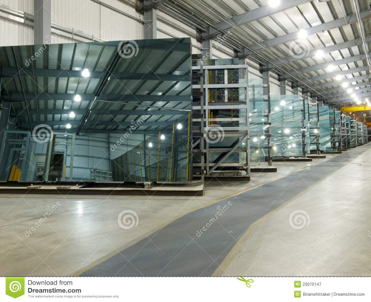 Glass Factory Royalty Free Stock Photography Image 23070147