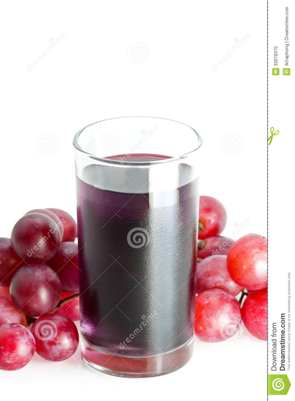 Glass Of Grape Juice Stock Photo - Image: 33078370