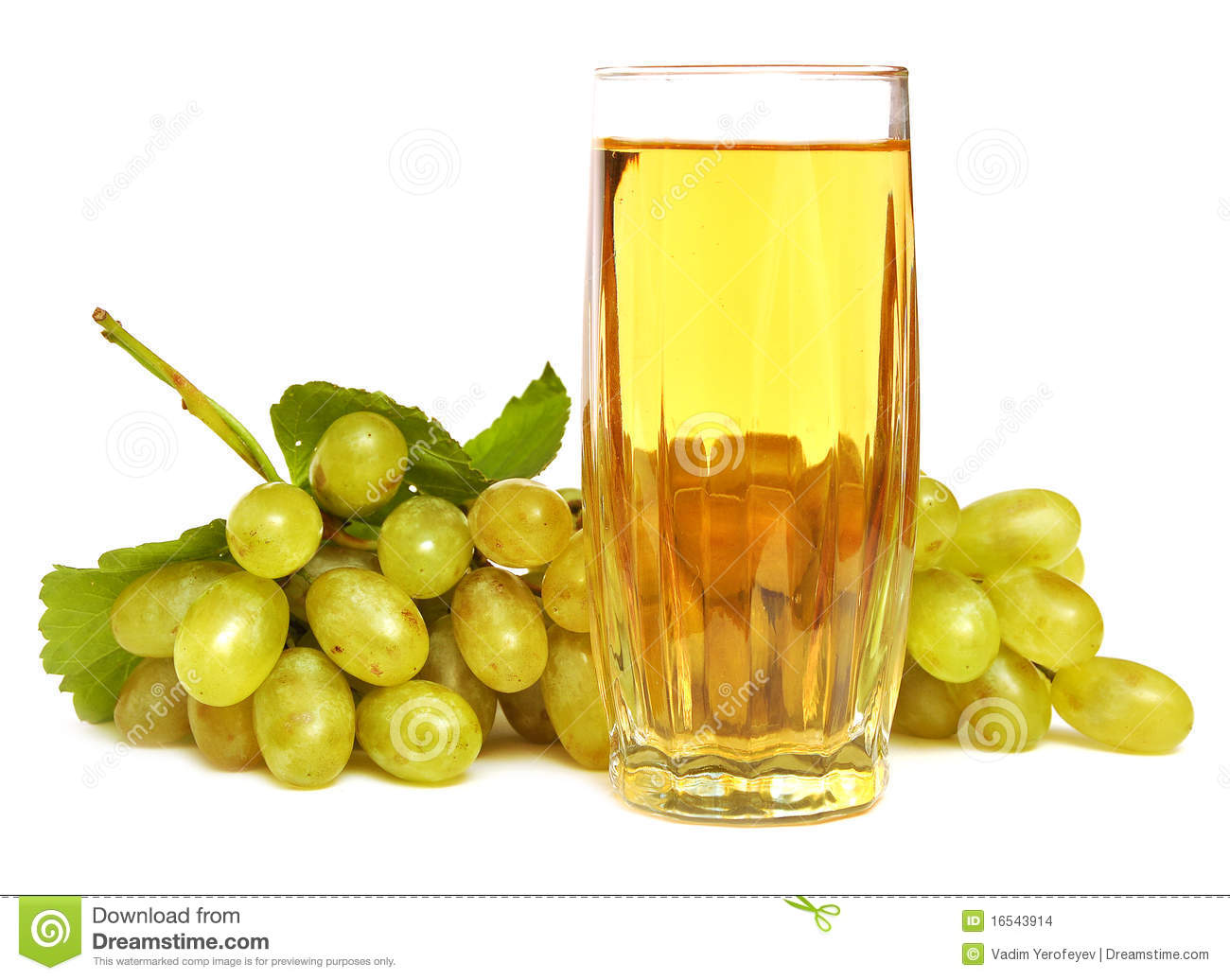 Glass With Grapes Juice Stock Images - Image: 16543914