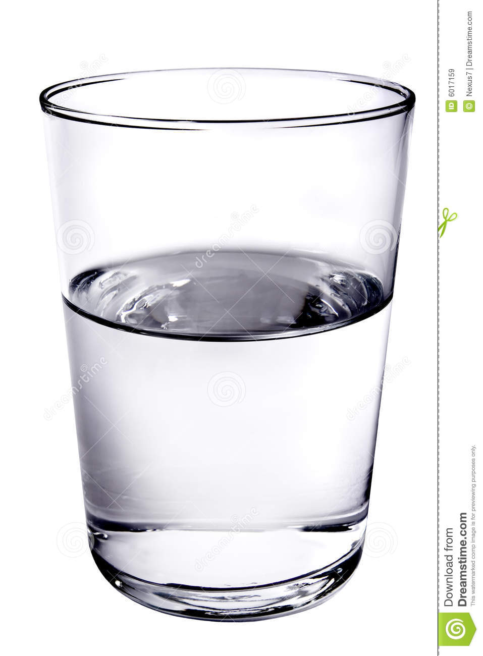Glass Half Full Royalty Free Stock Images - Image: 6017159