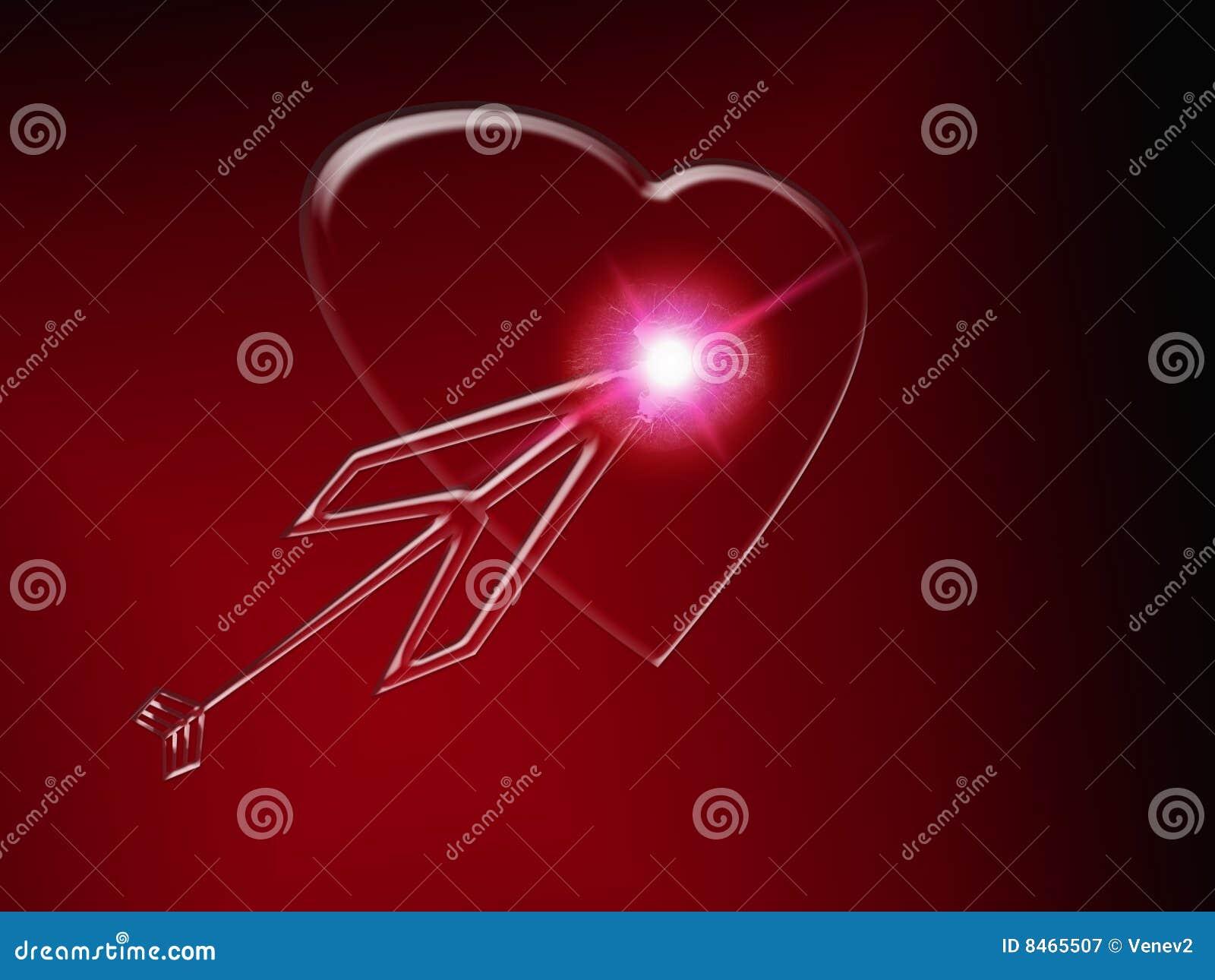Glass hjärta