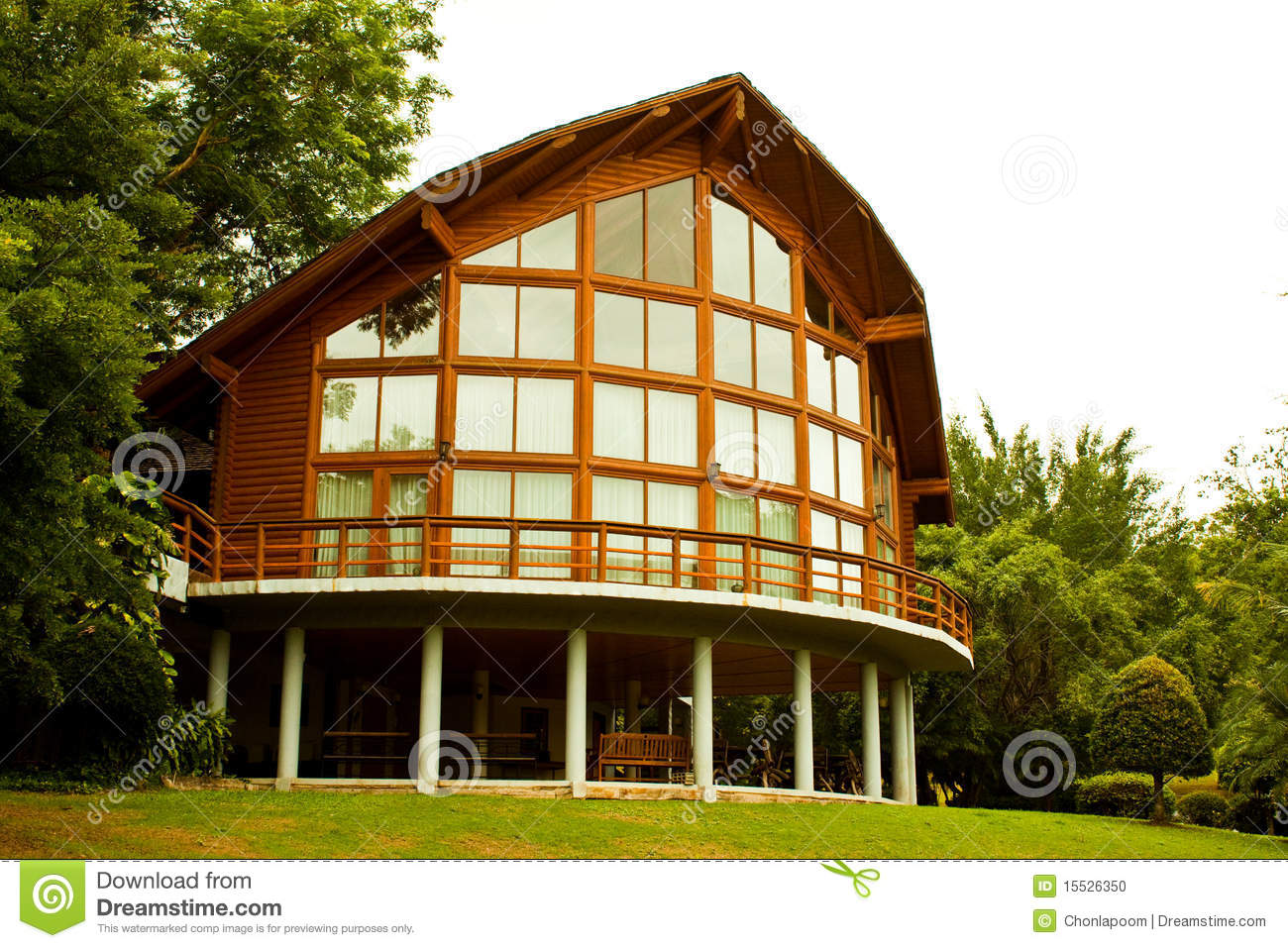 Glass House Stock Photo - Image: 15526350 - ^