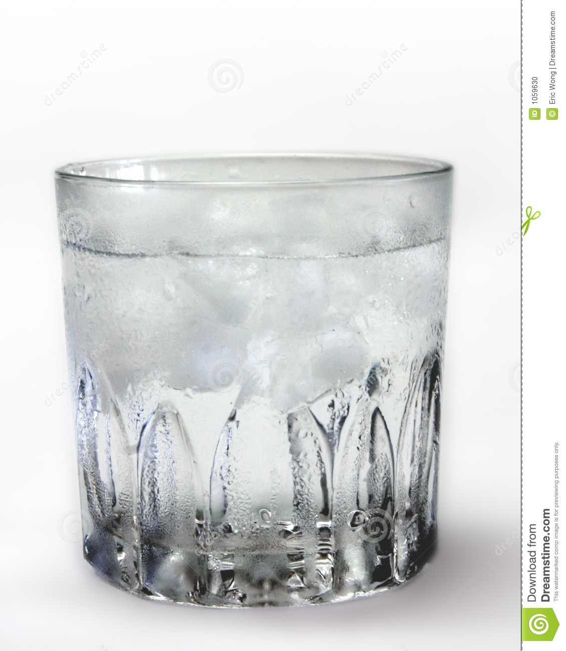 Glass of Ice cold water stock photo. Image of kitchen ...