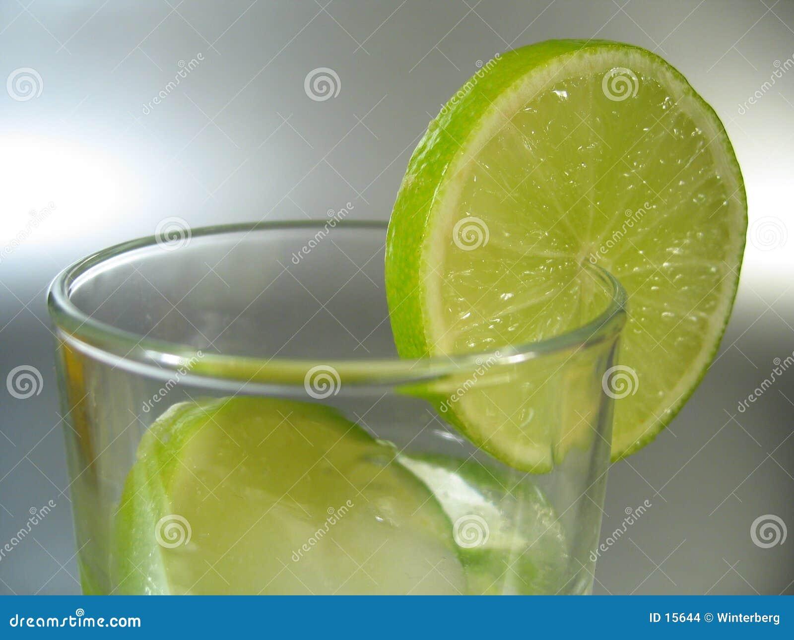 Glass limefrukt
