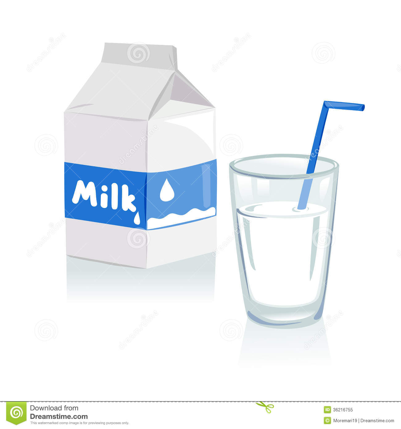clipart of a glass of milk - photo #18