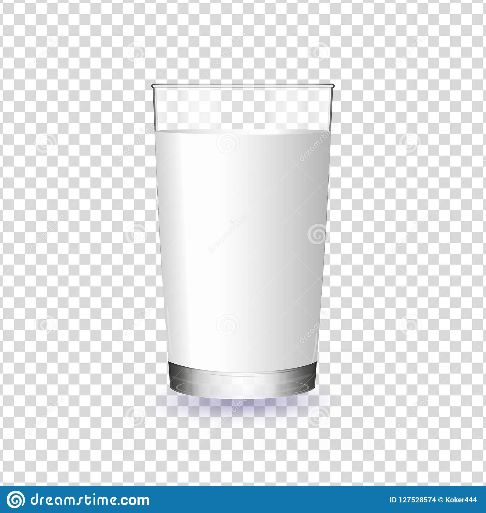 Glass Of Milk Transparent