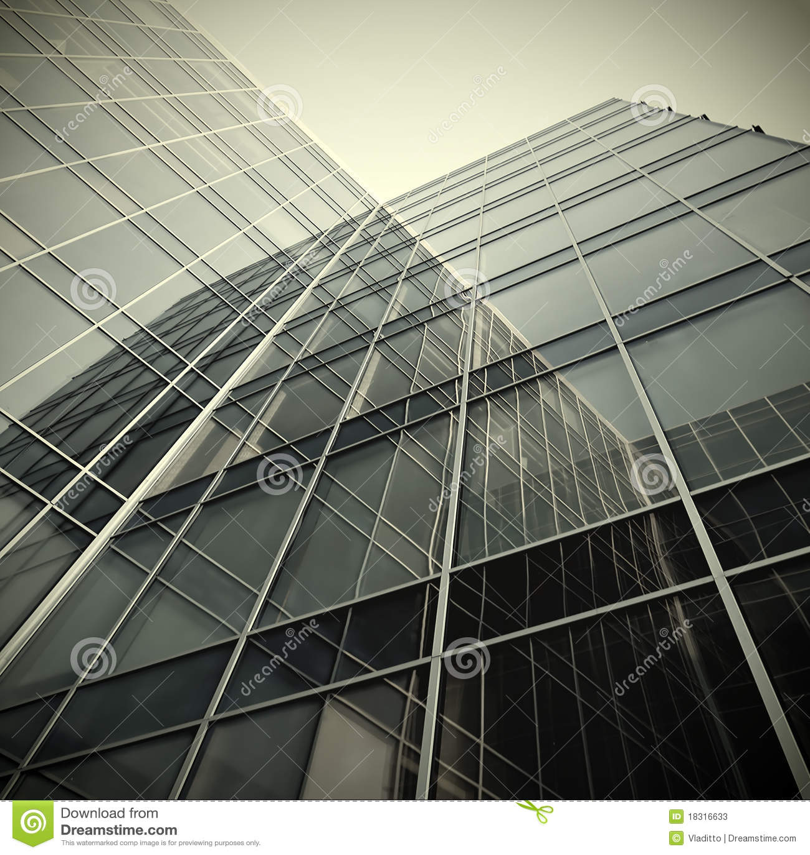 Glass moderna silhouettes