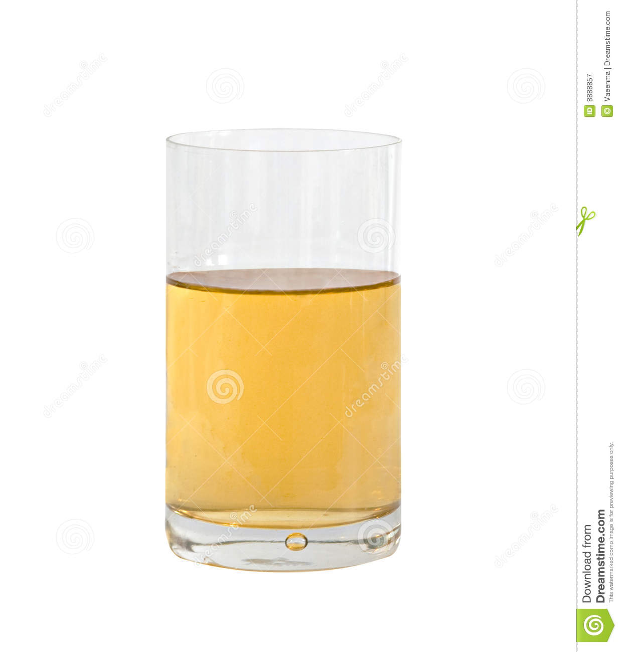 Glass Of Natural Apple Juice Royalty Free Stock ...