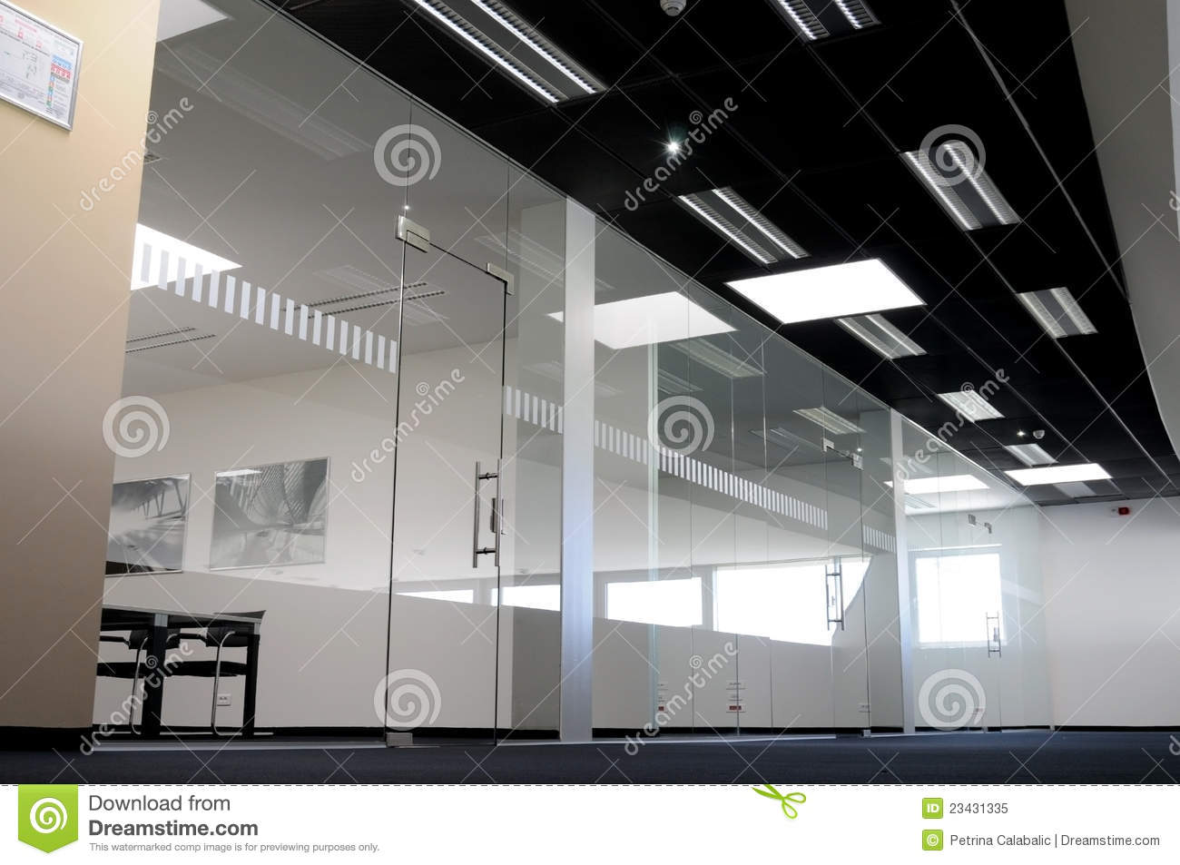 Glass Office Royalty Free Stock Photo - Image: 23431335