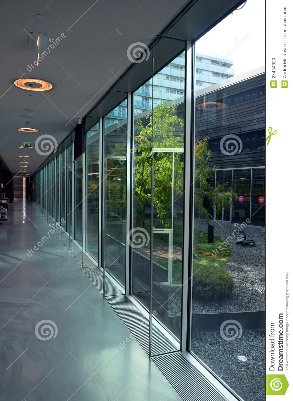 Glass Building Interior : Glass office building interior stock photos image